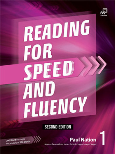 Reading for Speed and Fluency Second Edition 1 Student Book - BIGBOX Access Code