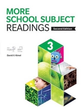 More School Subject Readings 2/e 3 Student Book with WB - BIGBOX Access Code