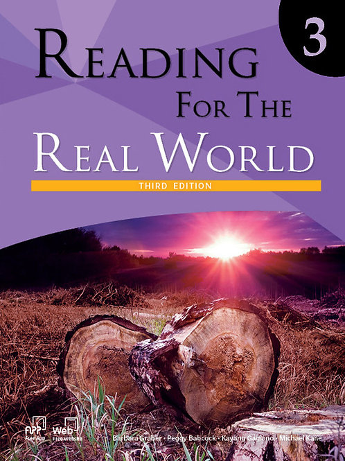 Reading for the Real World Third Edition 3 Student Book - BIGBOX Access Code
