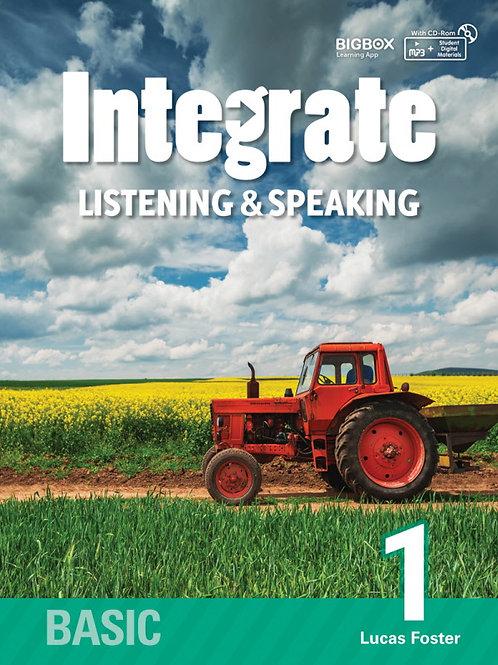 Integrate Listening & Speaking Basic 1 Student Book - BIGBOX Access Code