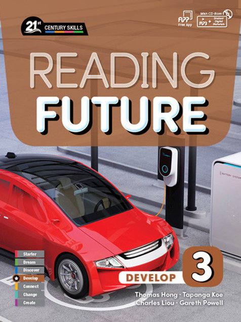 Reading Future Develop 3 Student Book with Workbook - BIGBOX Access Code