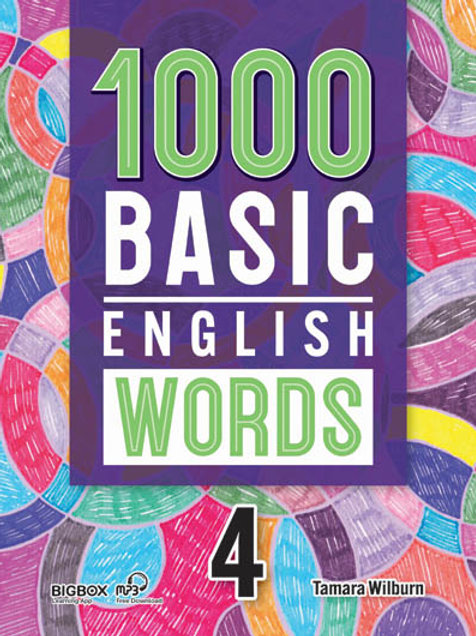 1000 Basic English Words 4 Student Book (New Cover) - BIGBOX Access Code