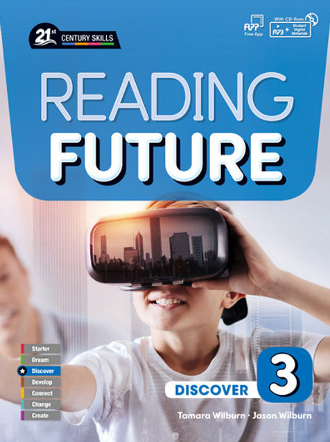 Reading Future Discover 3 Student Book with Workbook - BIGBOX Access Code
