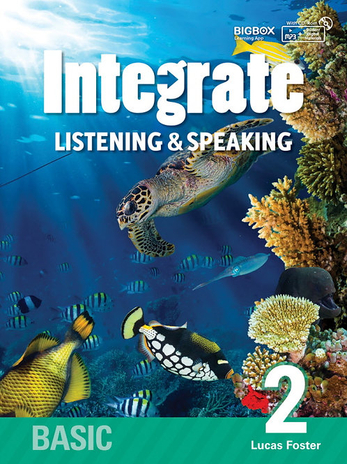 Integrate Listening & Speaking Basic 2 Student Book - BIGBOX Access Code