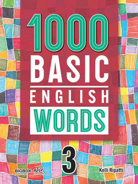 1000 Basic English Words 3 Student Book (New Cover) - BIGBOX Access Code