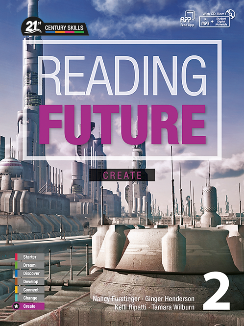 Reading Future Create 2 Student Book with Workbook - BIGBOX Access Code