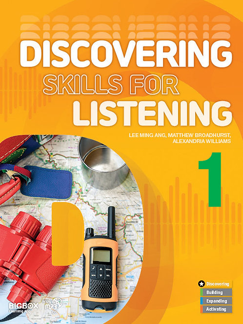 Discovering Skills for Listening 1 Student Book - BIGBOX Access Code
