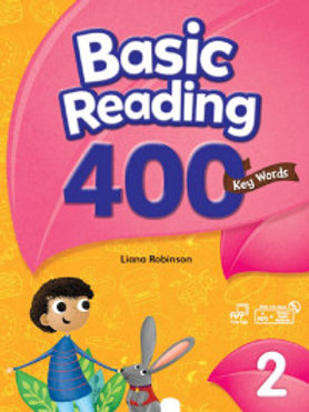 Basic Reading 400 Key Words 2 Student Book with Workbook - BIGBOX Access Code