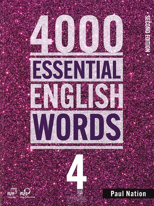 4000 Essential English Words Second Edition 4 Student Book - BIGBOX Access Code