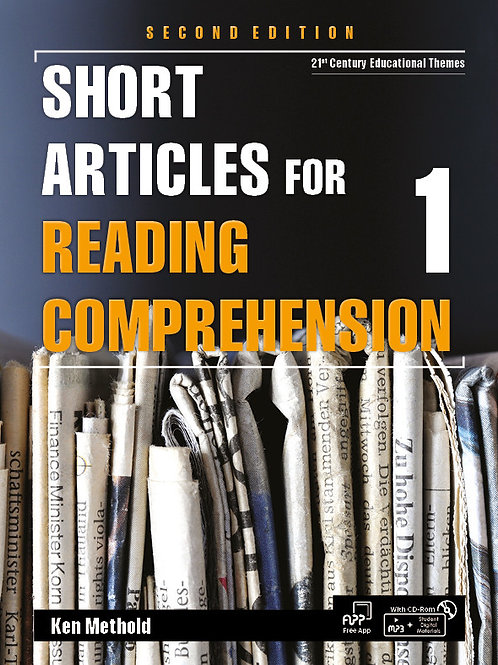 Short Articles for Reading Comprehension 2/e 1 Student Book - BIGBOX Access Code