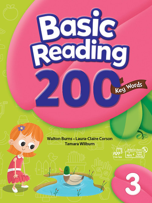 Basic Reading 200 Key Words 3 Student Book with Workbook - BIGBOX Access Code