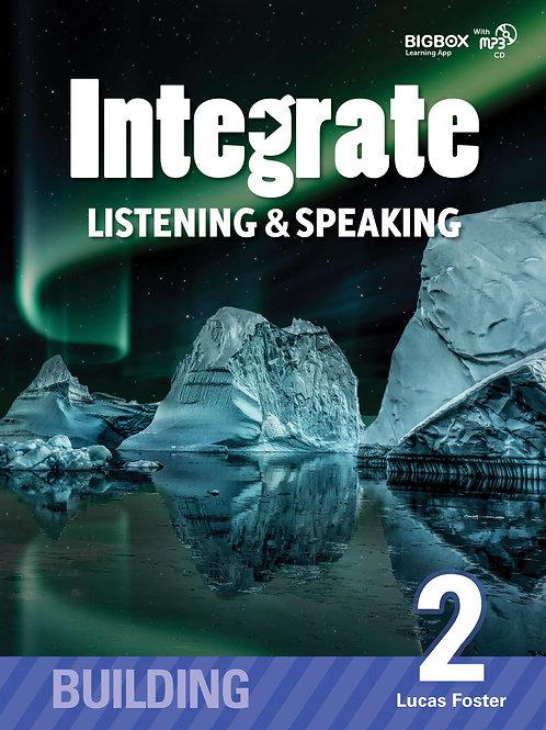Integrate Listening & Speaking Building 2 Student Book - BIGBOX Access Code