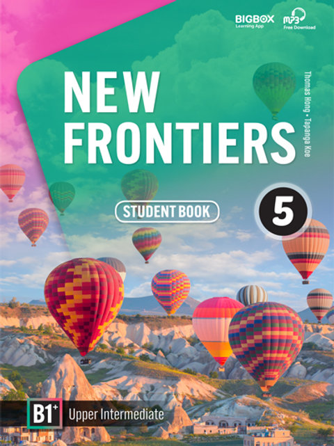 New Frontiers 5 Student Book - BIGBOX Access Code