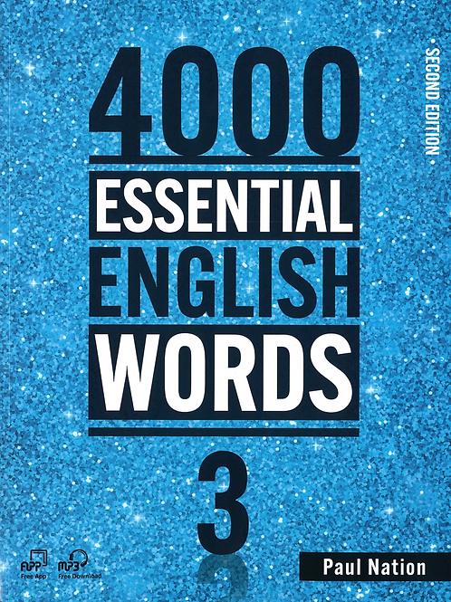 4000 Essential English Words Second Edition 3 Student Book - BIGBOX Access Code
