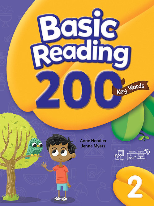 Basic Reading 200 Key Words 2 Student Book with Workbook - BIGBOX Access Code