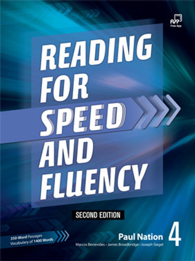 Reading for Speed and Fluency Second Edition 4 Student Book - BIGBOX Access Code