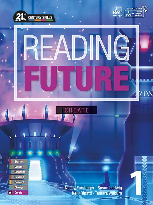 Reading Future Create 1 Student Book with Workbook - BIGBOX Access Code
