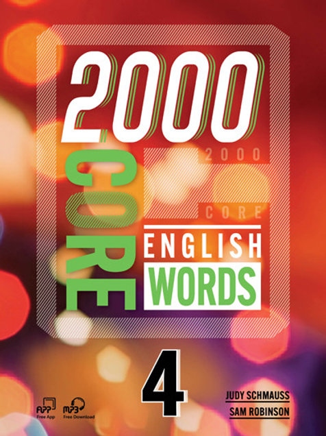 2000 Core English Words 4 Student Book - BIGBOX Access Code