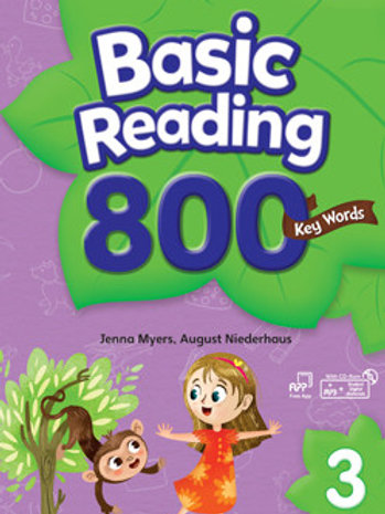 Basic Reading 800 Key Words 3 Student Book with Workbook - BIGBOX Access Code
