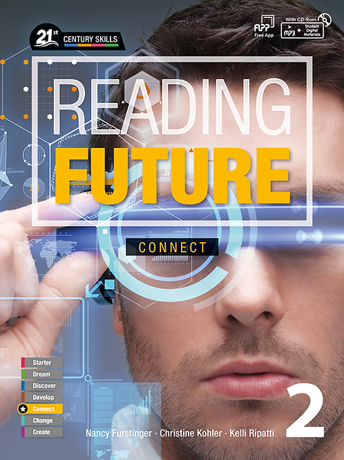 Reading Future Connect 2 Student Book with Workbook - BIGBOX Access Code