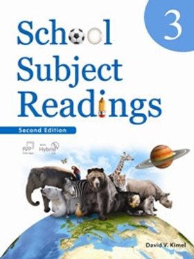 School Subject Readings 2/e 3 Student Book with Workbook - BIGBOX Access Code