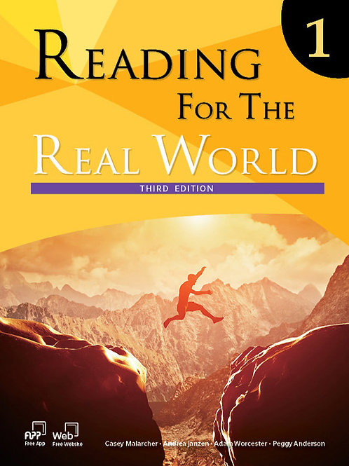 Reading for the Real World Third Edition 1 Student Book - BIGBOX Access Code