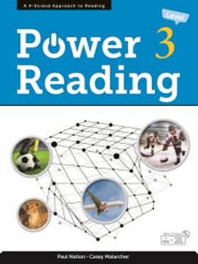 Power Reading Level 3 Student Book - BIGBOX Access Code