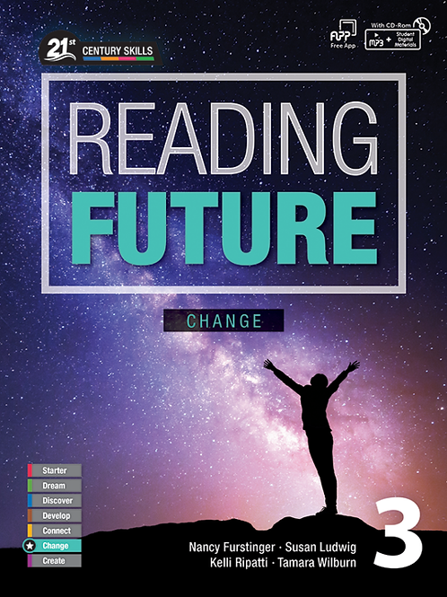 Reading Future Change 3 Student Book with Workbook - BIGBOX Access Code