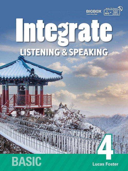 Integrate Listening & Speaking Basic 4 Student Book - BIGBOX Access Code