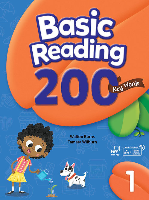 Basic Reading 200 Key Words 1 Student Book with Workbook - BIGBOX Access Code
