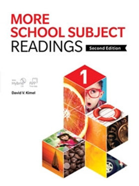 More School Subject Readings 2/e 1 Student Book with WB - BIGBOX Access Code