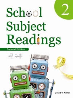 School Subject Readings 2/e 2 Student Book with Workbook - BIGBOX Access Code