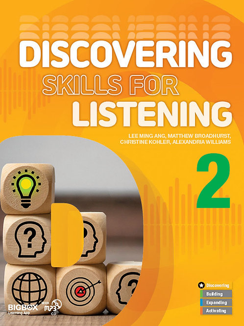 Discovering Skills for Listening 2 Student Book - BIGBOX Access Code