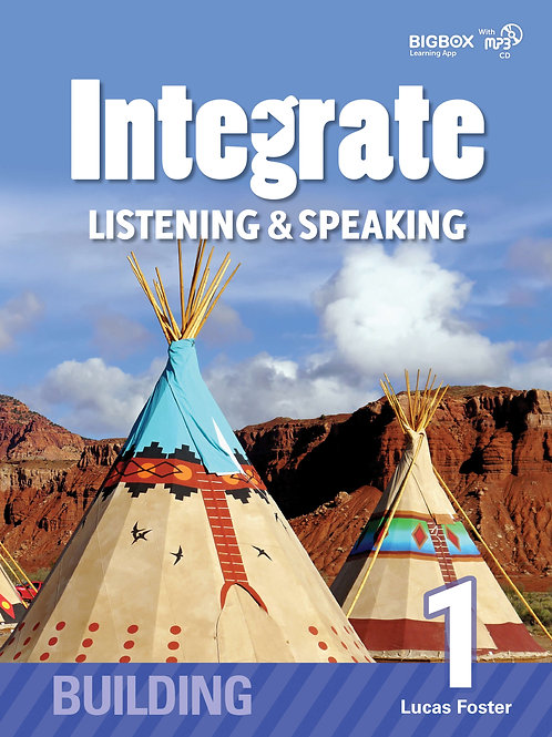 Integrate Listening & Speaking Building 1 Student Book - BIGBOX Access Code