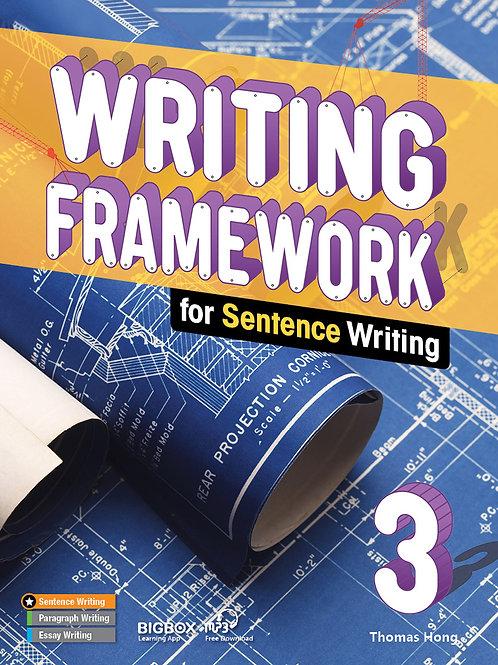 Writing Framework Sentence Writing 3 Student Book - BIGBOX Access Code