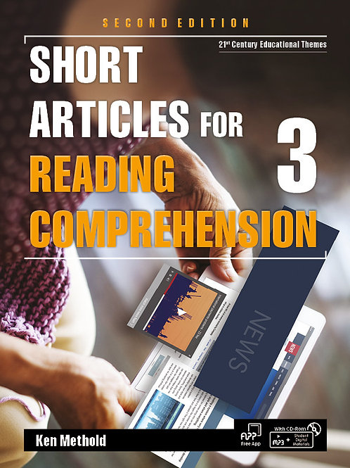 Short Articles for Reading Comprehension 2/e 2 Student Book - BIGBOX Access Code