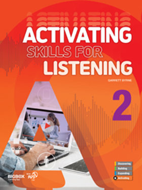 Activating Skills for Listening 2 Student Book - BIGBOX Access Code