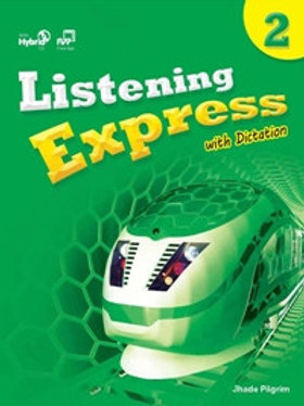 Listening Express 2 Student Book with Dictation Book - BIGBOX Access Code