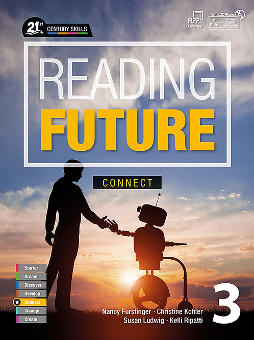 Reading Future Connect 3 Student Book with Workbook - BIGBOX Access Code