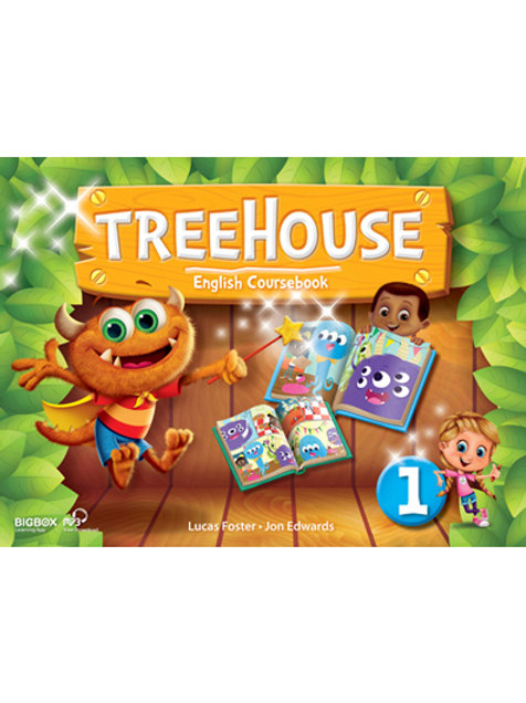 Treehouse 1 Student Book - BIGBOX Access Code