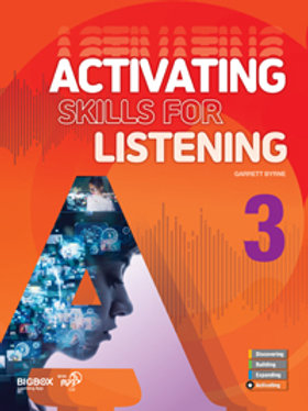 Activating Skills for Listening 3 Student Book - BIGBOX Access Code