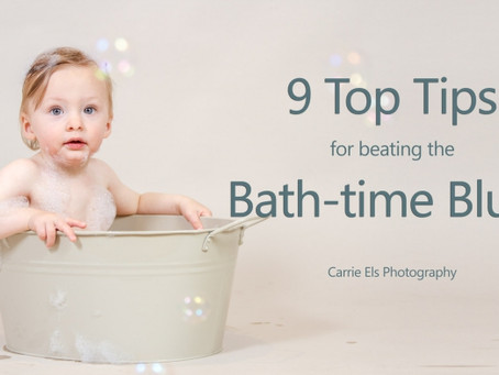 9 Top Tips for beating the Bath-time Blues