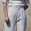Thumbnail: HOSE  RHUMAA, offwhite gestreift -100%Cotton