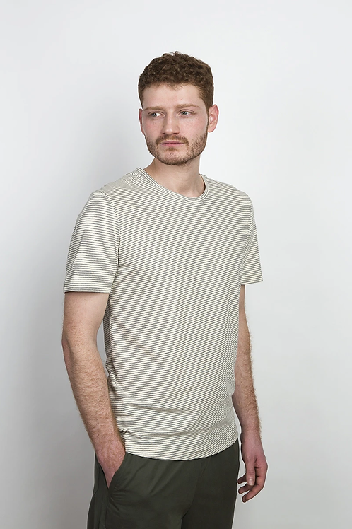 T-SHIRT COUDRE BERLIN, STRIPED, 100%Cotton