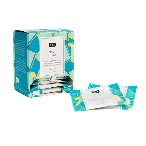 Grüner Tee, Master Blend Mint Julep N°715, Beutel