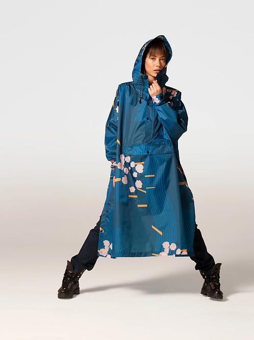 JAPANESE BLOSSOM, REGENPONCHO, RAINKISS, 100% Recycled Polyester