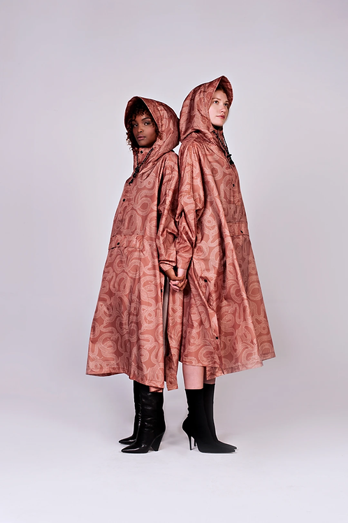 SNAKES ON A ...., REGENPONCHO, RAINKISS, 100% Recycled Polyester