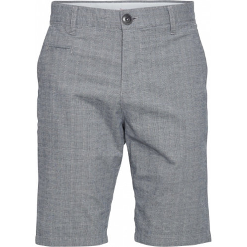 SHORTS CHUCK   KNOWLEDGECOTTON App., grau/karriert -OrganicCotton