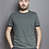 Thumbnail: T-SHIRT COUDRE BERLIN, Contrast Collar serpentine, 100%Cotton