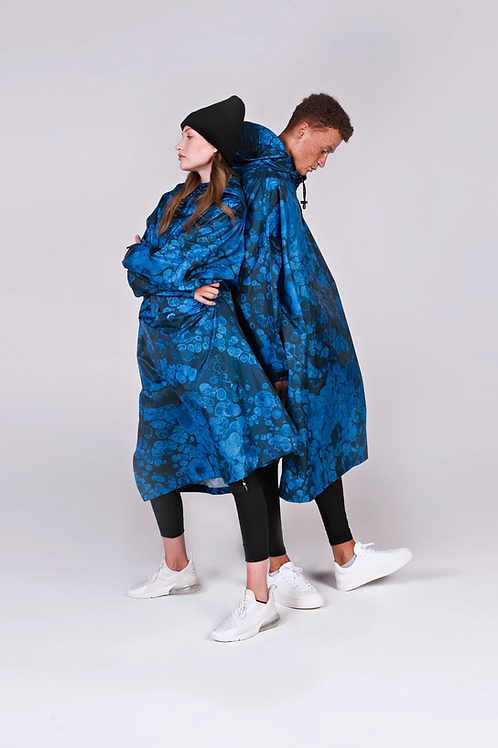 BUBBLE REGENPONCHO, RAINKISS, 100% Recycled Polyester